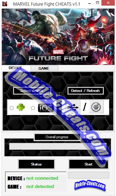 MARVEL Future Fight Hack Online Unlimited Diamonds!